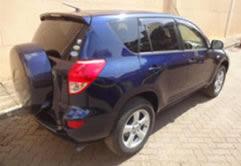 Toyota Rav4 Car Rental in Rwanda