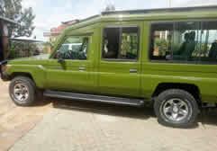 Extended Land Cruiser Rwanda