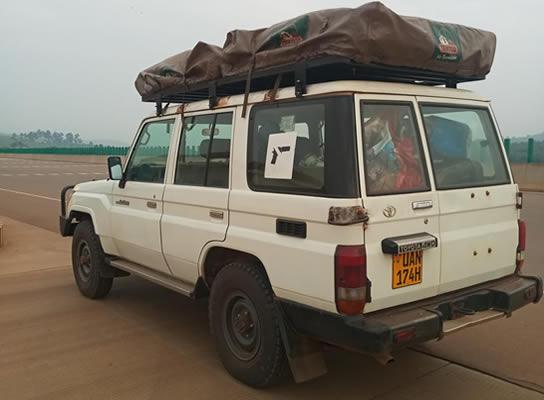 Land Cruiser TZ Hire in Rwanda