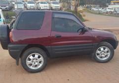 Rav4 Short Car Hire in Rwanda