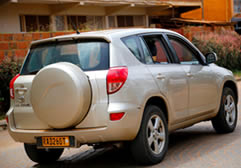 Toyota Rav4 Rental in Rwanda